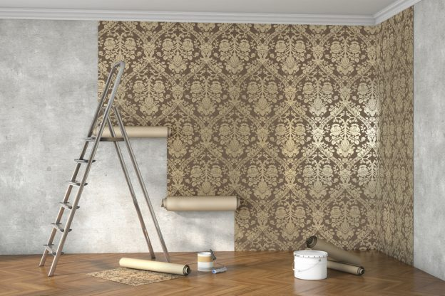 Pared papel pintado papel pintado imitacin ladrillo for Papel decorativo para pared