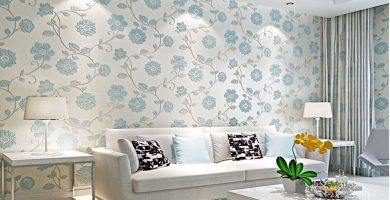 papel pintado salon